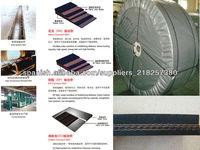industrial canvas belt iso standard conveyor belt