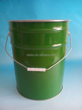 20L paint bucket/metal bucket/ with handle for ink/oil/adhesive,UN approved