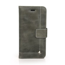 2015 New Design High Quality Flip Genuine Leather Cases for iPhone 6