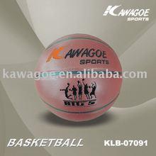 Laminated basketball