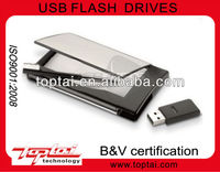 Fashionable Patent beautiful multifunction with pen and USB 2.0 name Card holder 2gb Flash Disk memory