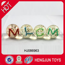 New Design 3D Transparent Rubber Bounce Ball with Figure inside