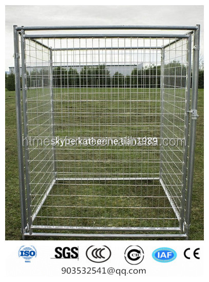 stainless steel wire mesh dog kennels/dog cage