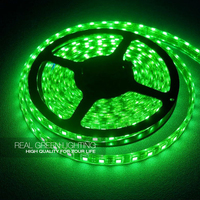 2 years warranty high quality Wholesale 50m/roll green 5050 led strip light with connector