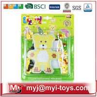Child gift mini iron bead plastic educational toys for playing