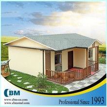 light steel villa, sandwich panel prefab house