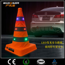 good price inflatable led light traffic cone traffic cone plastic made in china