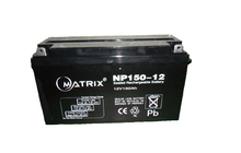 Rechargeable 12v 150ah flooded lead acid deep cycle battery