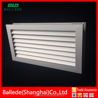 High quality decorative aluminum ventilation return air grille vent for wood door
