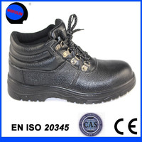 High Quality full grain Leather Work Land Safety Boots