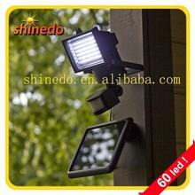 60 pcs high power motion sensor led solar light (SD-SSE16)