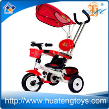 H159059 wholesale children metal tricycles sun-shade tricycles