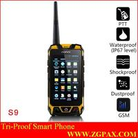 Rugged Android 4.0 capacitive touchscreen strong smart phone dual SIM