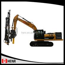Henr Hydraulic Rock Drilling Rig for Quarry