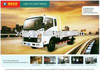 Man Diesel Low Price 3-15tons mini truck 4x2 light small cargo trucks