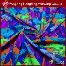 digital printing 96 polyester 4 spandex fabric