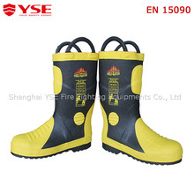 Fire working boots,firefighting safety equipment