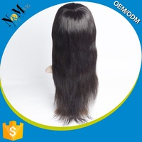 2015 Newest black grey ombre wig short curly human hair lace wig for black women
