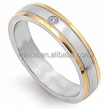 Meteorite Gibeon Meteorite Overlay Ring,Womens Camo Wedding Ring