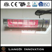 Good quality gas indoor heater panel mounted meter remote control