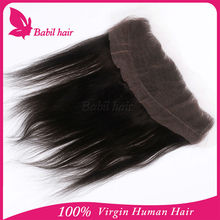 Accept paypal Grade 7A Remy human hair unprocessed wholesale remy cheap brazilian lace front closure piece