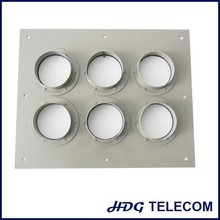 Well quality feeder cable wall entry plate / aluminum alloy wall entry