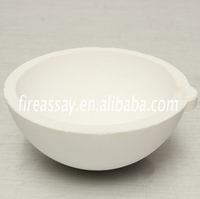 gold smelting tool refractory ceramic quartz bowls