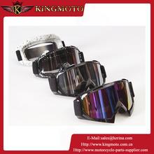 KINGMOTO 151031-12 Black TPU frame KINGMOTO lens fashion style motorcycle protected goggle