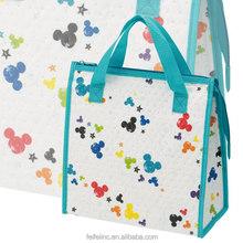 Foldable beer bottle cooler tote bag, good manufacturer price cooler bag