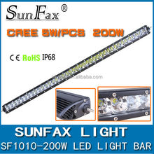 Hot Sale! 200w IP67 C REE Mini 4x4 led light bar for offroad, truck