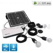 Pbox P6 10w Leadsun home solar panel kit/garden light home solar lighting kit/residential solar power kit