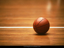 Indoor fireproof pvc wood texture flooring for basketball courts