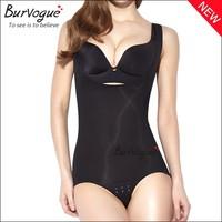 2015 new high quality women shapewear 3 hook black n skin weight loss bodysuit sexy slimming bodysuit wholesale for women