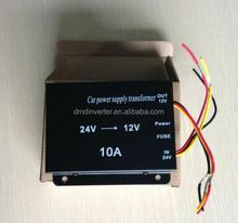 Professional 10A 24v to 12v dc dc high voltage step down buck converter