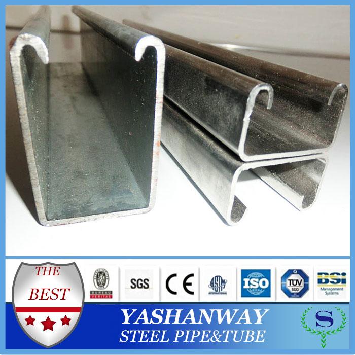 Ysw SS400 Q235B S235JR ASTM A36 мягкая сталь c-channel размеры