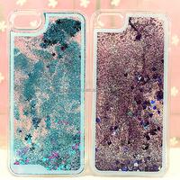 Luxury Glitter Star Liquid Back Phone Case Cover for apple iPhone 5 5C 5S 6 Plus