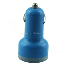 2015 hot colorful 5V 3.1A 2 port usb car charger for tablet pc, mobile phone,MID,...