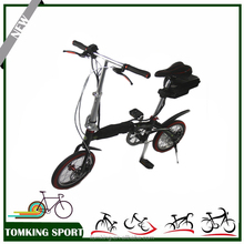 Rear rack folding e bike/electric bicycle with motor tourney 6 speed gear