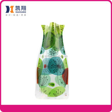 Foldable plastic vase