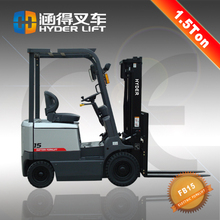 2015 new designed counterbalance 1.5ton battery electric forklift dealer
