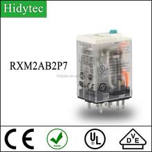 New Miniature intermediate relay RXM2AB2P7