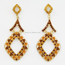 FACTORY CHEAP PRICES!! gold earrings new model 2012