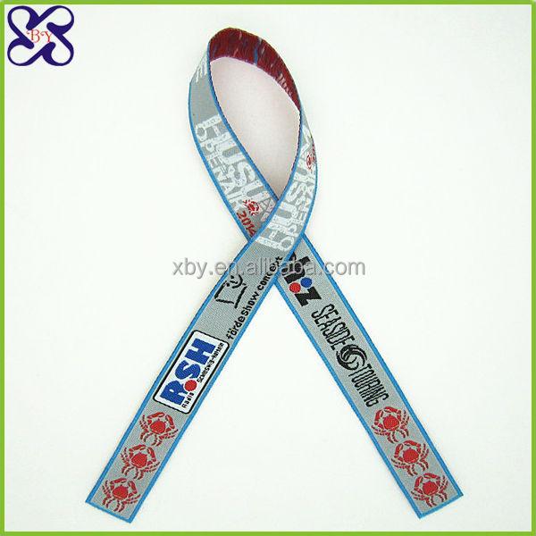 Custom cloth wristbands Ribbon sport wristband