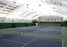 Indoor sports flooring for Rubber paint polyurethane tennis court surface