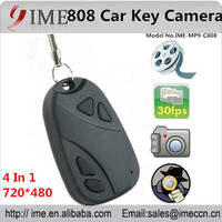 Best price Keychain hidden security Camera,hd 808 camera car key hidden camera support micro SD card up to 32gb