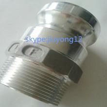 Type F SS316/aluminium camlock coupling
