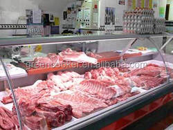 Butcher meat shop refrigeration equipment meat refrigerator