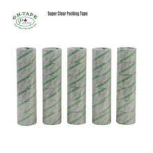 45mm width 66m length sticky bopp super crystal clear packaging tape