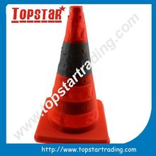 competitive price bright fluorescent PVC Traffic Cone with good quality