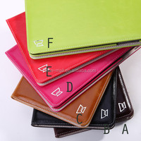 New High quality Luxury flip leather wallet cover case for ipad mini